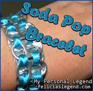 Soda Pop Bracelet Tutorial