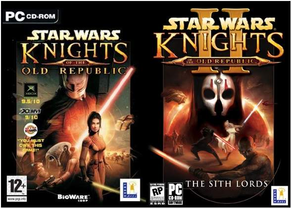 Star Wars Caballeros De La Antigua Republica Gold Repack DVD5 Descargar