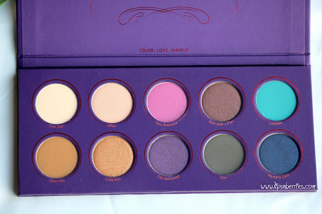 Zoeva Love is story eyeshadow palette