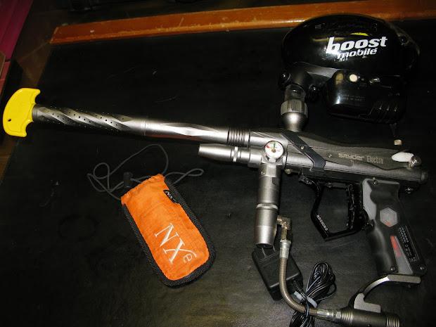 Brass Balls Pawn Spyder Electra Paintball Gun Witheye