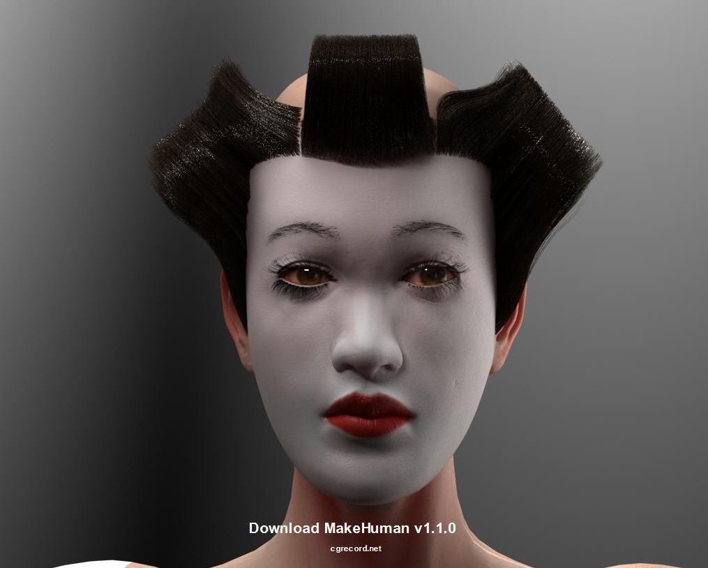 Download MakeHuman v1 1 0 | Computer Graphics Daily News