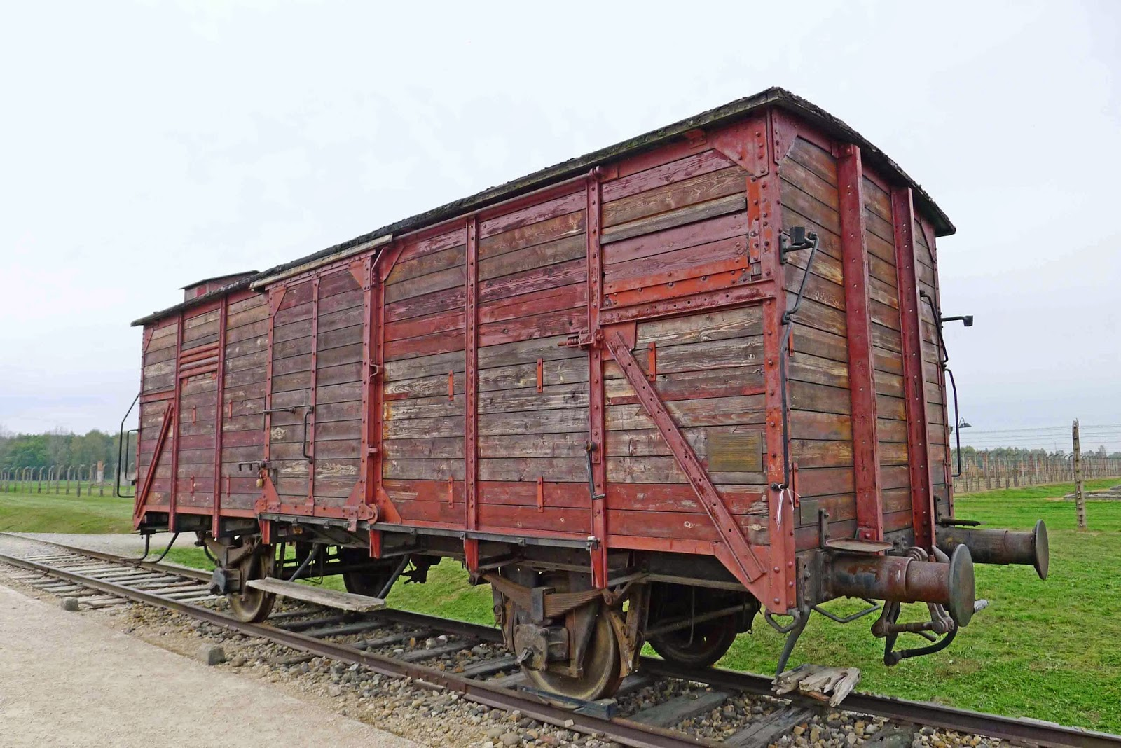 Auschwitz Train Cart