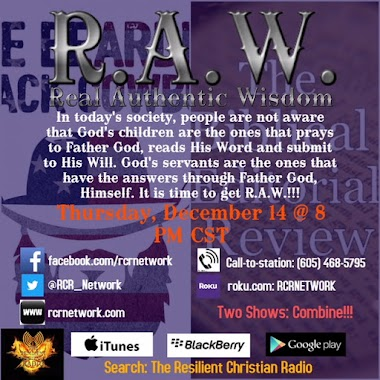 Let's Get R.A.W.!!!!