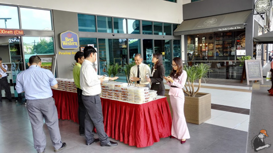 Makanan percuma Best Western Hotel sempena Ramadhan