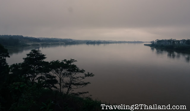 View over the Mekong River - Thailand