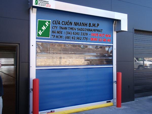 cửa cuốn tốc độ cao gara xe hoi
