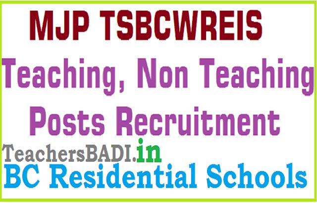 TS MJP BC Welfare Residential Schools,MJPTBCWREIS,BC Gurukulams