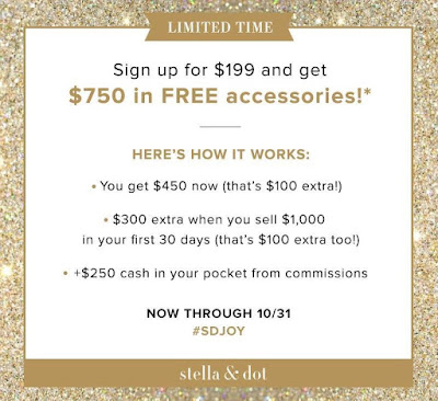 Stella & Dot Stylist Opportunity - October Sign Up Special