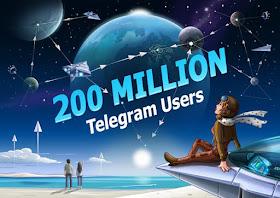 Telegram Hits new Milestone of 200 Million Monthly Active Users