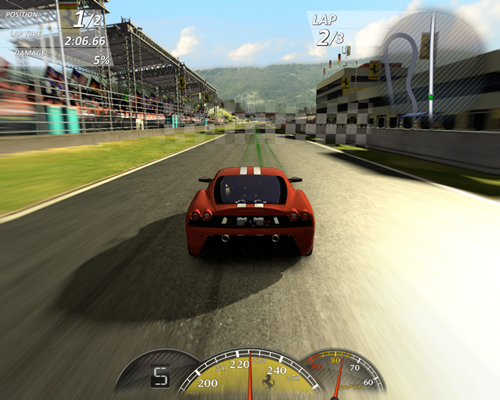 Ferrari Virtual Race Game  Free Download Full Version For PC
