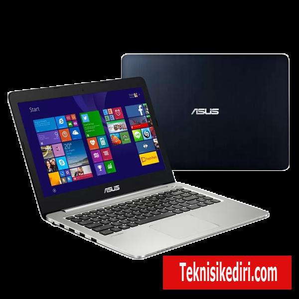 cara instal laptop asus a556u intel core i5 dengan usb