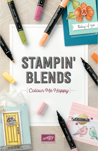 Stampin' Up! UK Independent  Demonstrator Susan Simpson, Craftyduckydoodah!, Stampin' Blends, Supplies available 24/7 from my online store,