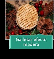 GALLETAS EFECTO MADERA