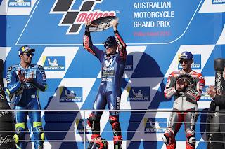 MOTO GP - Maverick Viñales se impone en Phillip Island y termina con la sequía de Yamaha