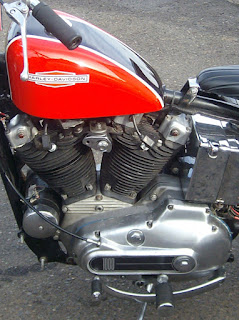 ironhead sportster xlch 1976 engine side left