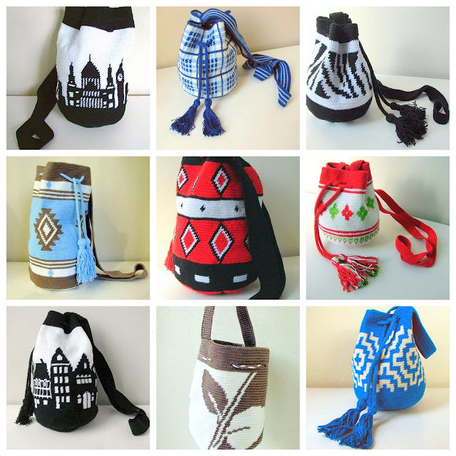 mochilla tapestry bag crochet pattern