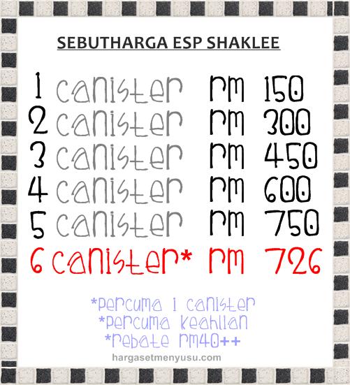 Promo ESP Shaklee