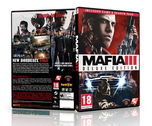 Mafia III - Deluxe Edition Cover Box