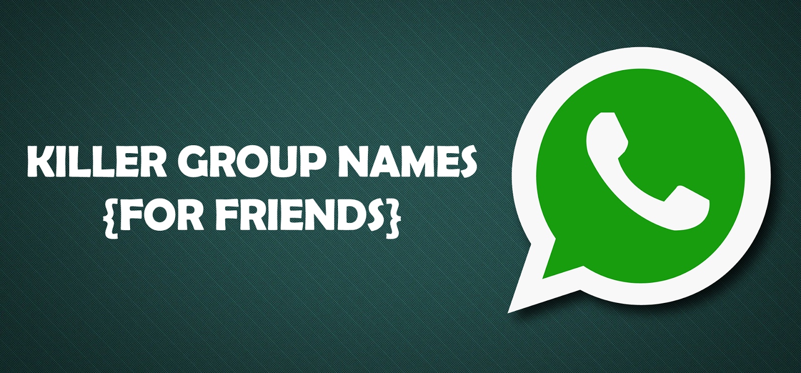 Best friend group name ideas