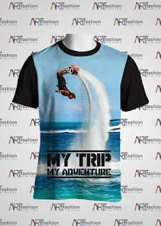 Kaos Oblong My Trip My Adventure Spesial Flyboard