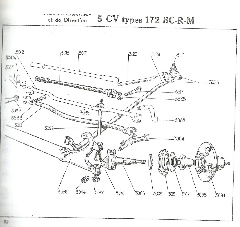 Peugeot 172M Torpedo Cabriolet