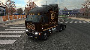 UPS skin for Freightliner Argosy