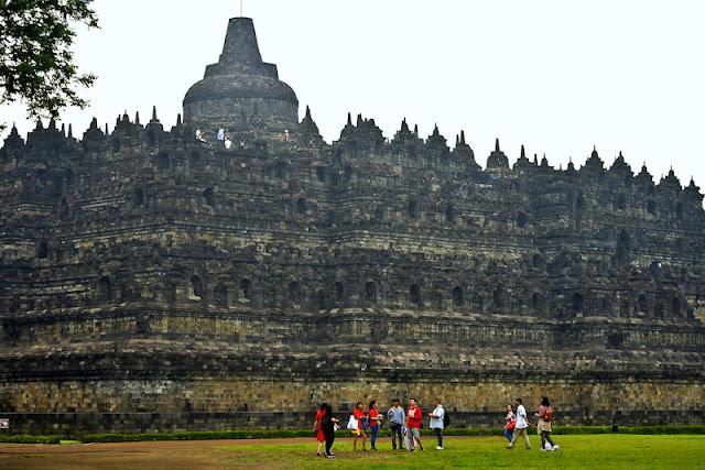 Borobudur Temple in Yogyakarta Indonesia