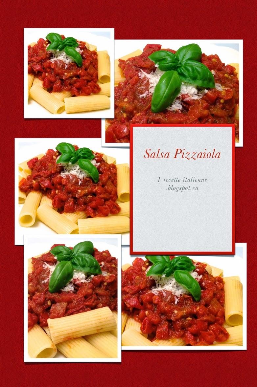 1 recette italienne salsa pizzaiola sauce la tomate et l ail. Black Bedroom Furniture Sets. Home Design Ideas