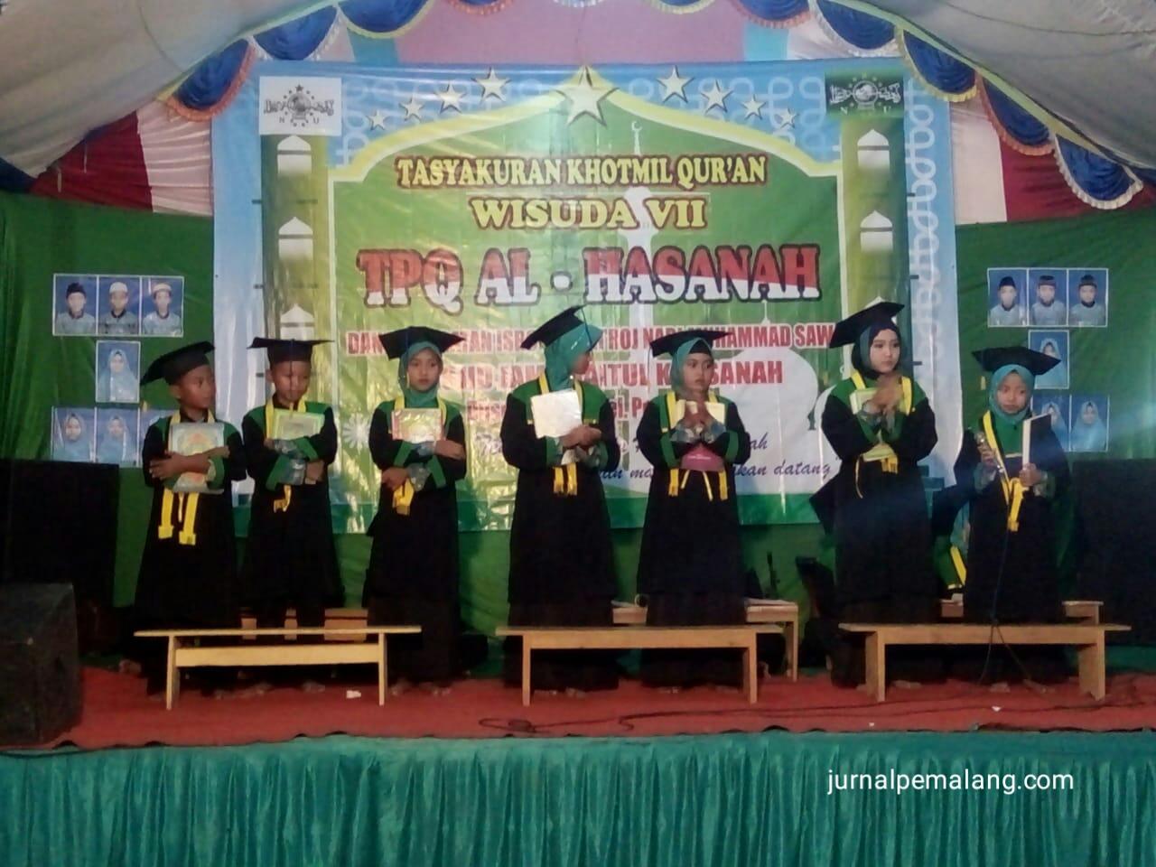 Pengajian Umum Dalam Rangka Tasyakuran Dan Khotmil Al Quran Yang Diadakan Oleh Tpq Al Hasanah Di Dukuh Peron Kelurahan Petarukan Kecamatan Petarukan