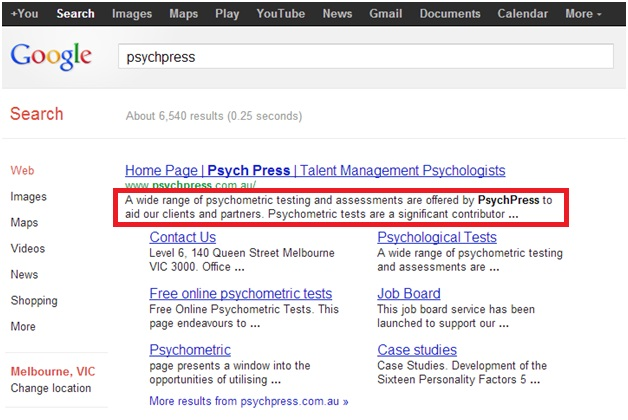 SEO - Basics and Must Haves Part 2 | Psych Press News