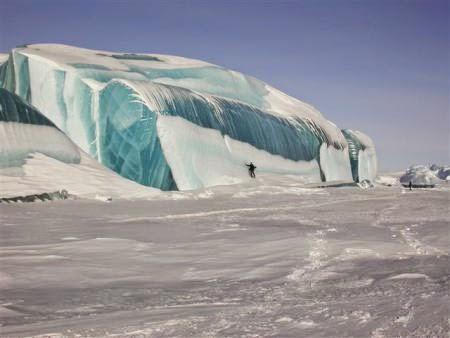 Keajaiban Alam Di Dunia Es