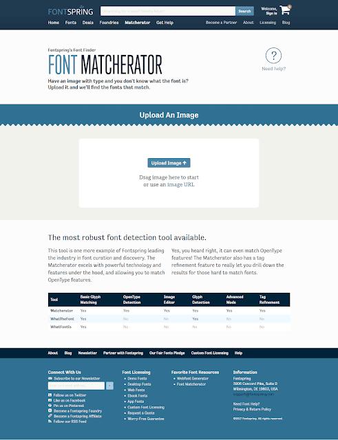 Fontspring Matcherator Tool Terbaik Identifikasi Mengetahui Font dari Gambar