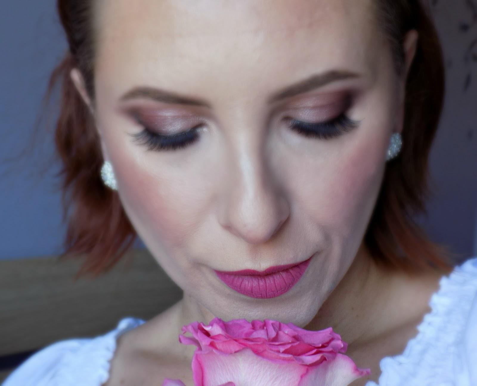 wedding guest/bridal makeup look