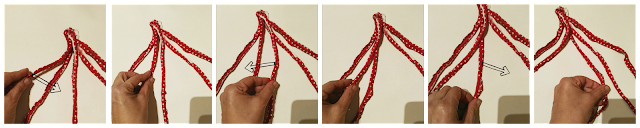 como hacer una diadema trapillo
