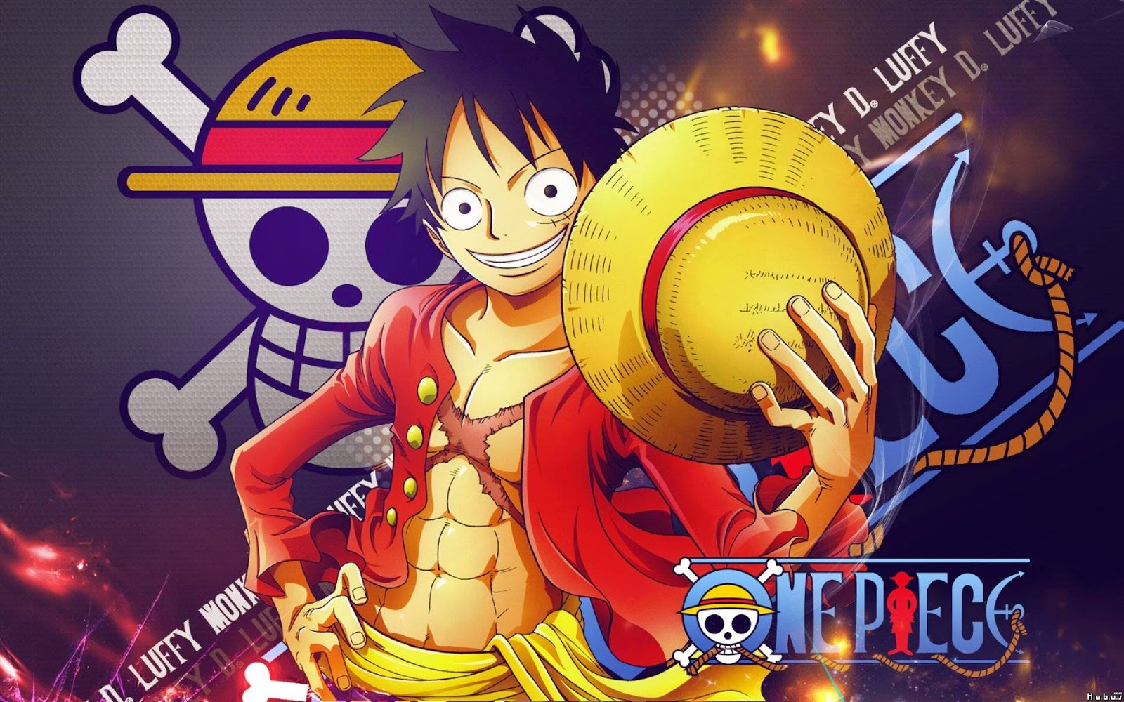 Wallpaper One Piece Luffy New World Hd Wallpaper Hd Collection
