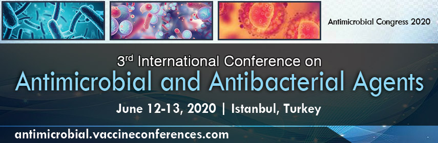 3<sup>rd</sup> International Conference on  Antimicrobial and Antibacterial Agents