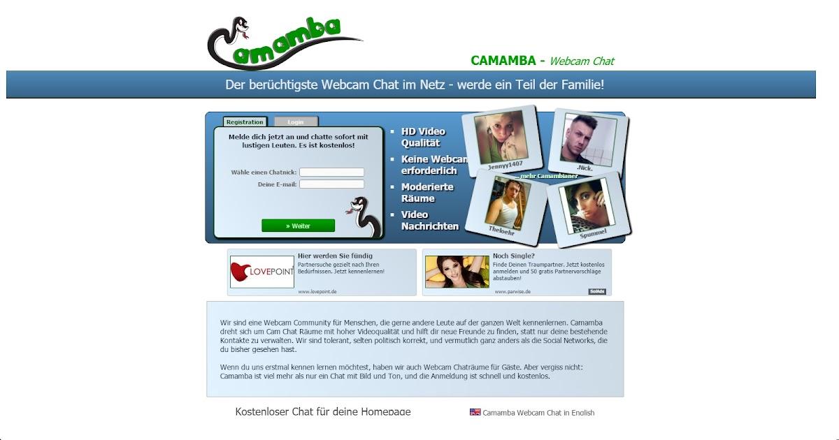 Camamba.de | Cam Chat Alternative auf Deutsch