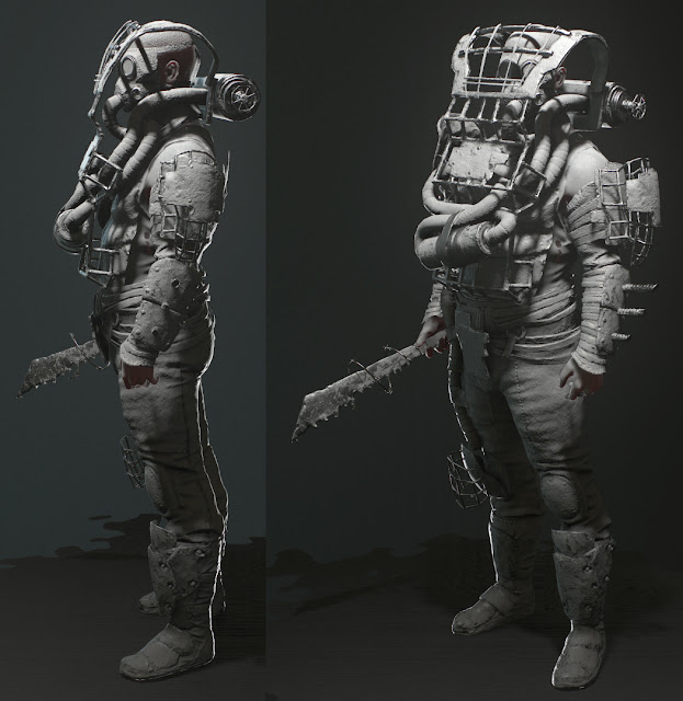 Fallout 3 Fan Art: 3d Character Artist: Fan Art