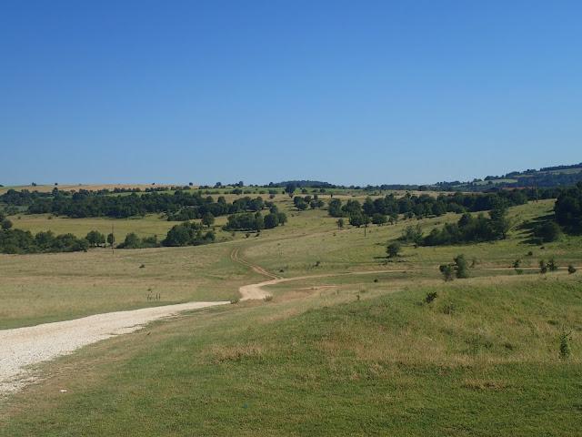 Północna Bułgaria to faliste łąki