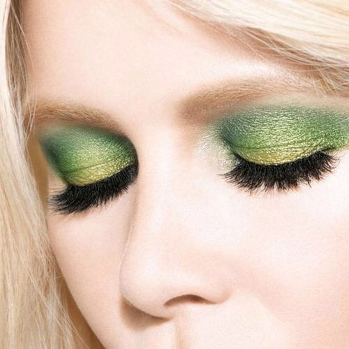 the green and gold shadow {Cool Chic Style Fashion}