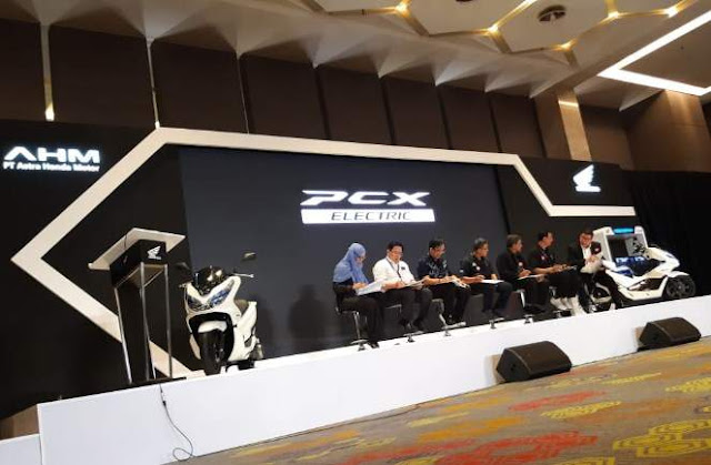 Launching PCX Electric Indonesia 2019