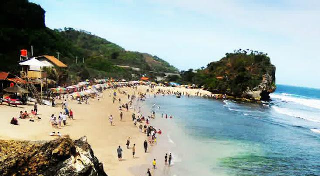 gambar pantai di Jogja Ulung syawal