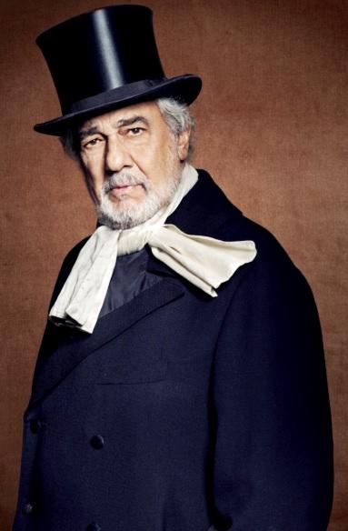 Foto de Plácido Domingo con sombrero