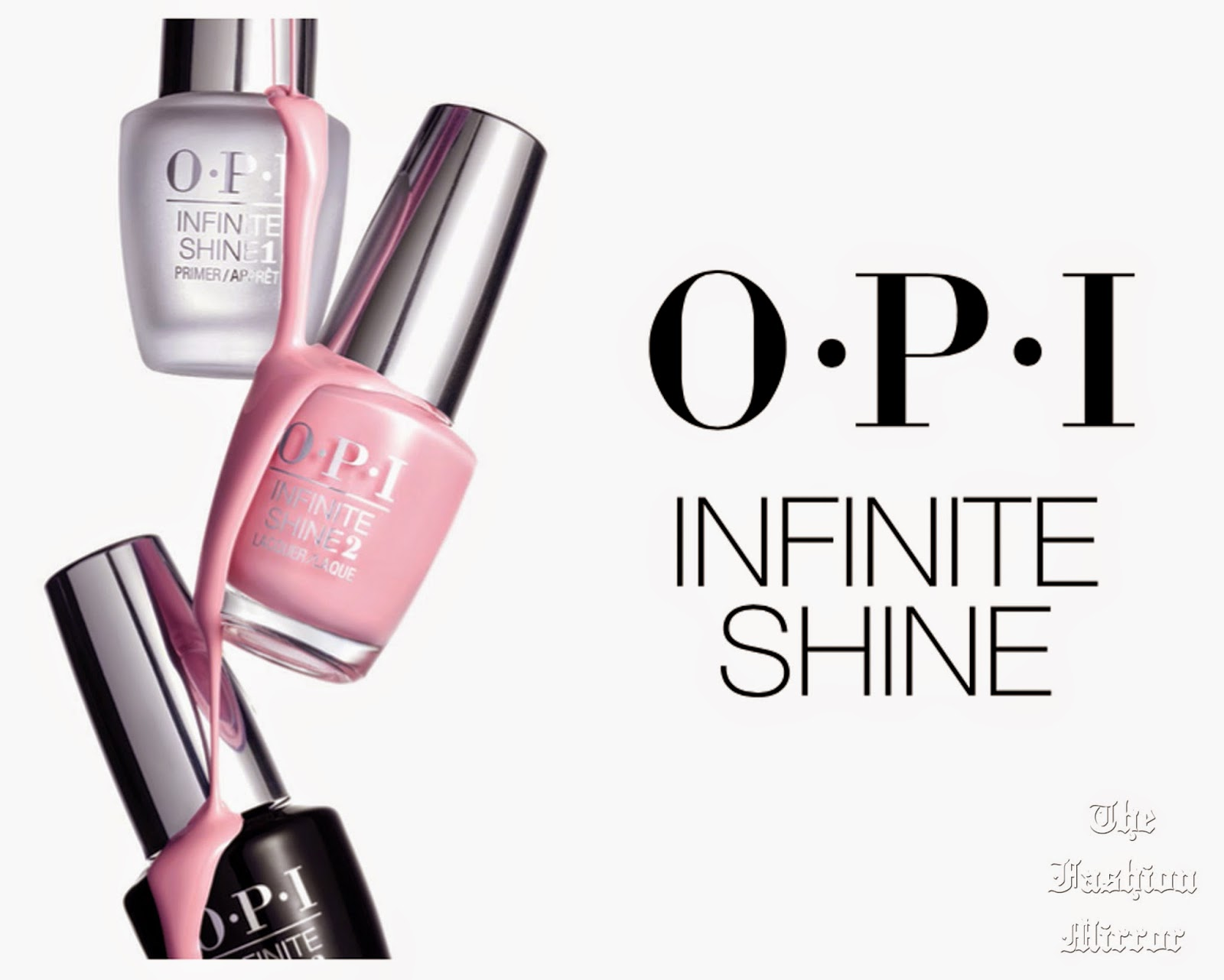 Esmalte Semipermanente Sin Lampara The Fashion Mirror Hoy Probamos Opi Infinite Shine