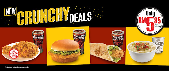 Texas Chicken Crunchy Deals