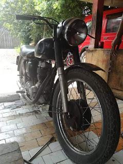 Jual Motor Klasik Tua BSA C11 250cc