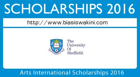 Arts International Scholarships 2016