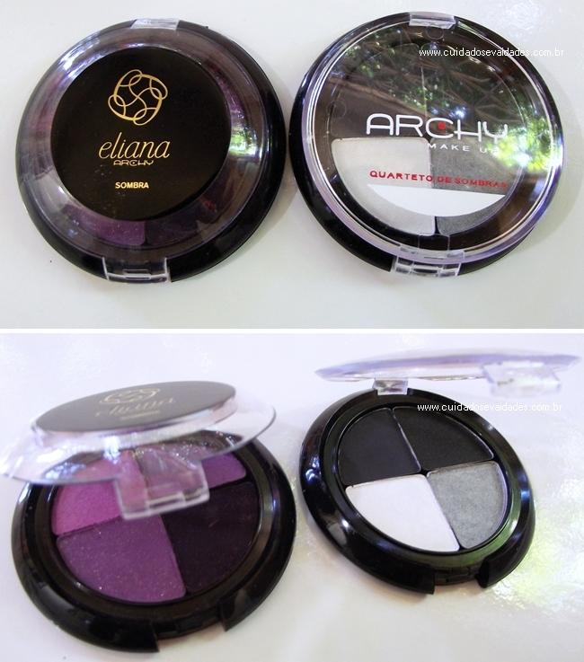 Eliana Quarteto de sombras Archy Make-Up