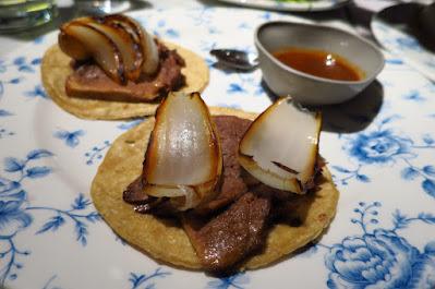 El Mero Mero, veal tongue tacos