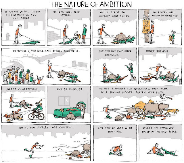 the nature of ambition, incidental comics, favorite comics, inspiring, grant snider